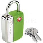 GO Travel Glo Sentry Lock Green GO338