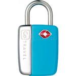 GO Travel Glo Sentry Lock Blue GO338 - 1