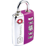GO Travel TSA My Date Lock Purple GO354