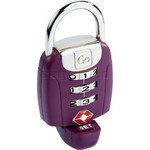 GO Travel TSA Twist 'N' Set Lock Purple GO357