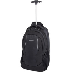 "Samsonite Casual 15.4"" Laptop Wheel Backpack Black 76645"