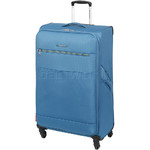 Swiss Gear Cyprus Large 78cm Softside Suitcase Blue 8600A