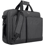 "Solo Urban 15.6"" Laptop & Tablet Hybrid Briefcase/Backpack Charcoal BN310"