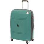Qantas Longreach Medium 67cm Hardside Suitcase Green Q530B