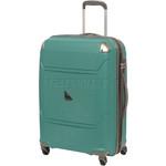 Qantas Longreach Medium 67cm Hardside Suitcase Green Q530B