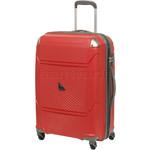Qantas Longreach Medium 67cm Hardside Suitcase Red Q530B