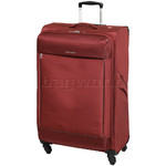 Swiss Gear Lisbon Large 78cm Softside Suitcase Red 9900A