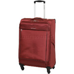 Swiss Gear Lisbon Medium 68cm Softside Suitcase Red 9900B