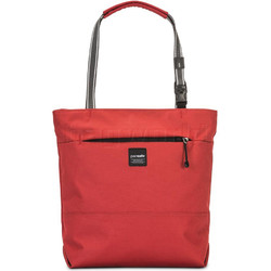 """Pacsafe Slingsafe LX200 Anti-Theft 11"""" Laptop/Tablet Compact Tote Chilli 45215"""