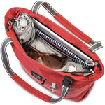 """Pacsafe Slingsafe LX200 Anti-Theft 11"""" Laptop/Tablet Compact Tote Chilli 45215 - 1"""