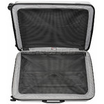 Qantas Winton Large 77cm Hardsided Suitcase Silver Q550A - 4