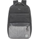 Solo Urban Code 15.6 Laptop Backpack Black BN740 - 3