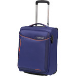 American Tourister Applite 2.0 Small/Cabin 50cm Softside Suitcase Bodega Blue 79235