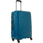 Antler Prism Hi-Shine Medium 66cm Hardside Suitcase Teal 00123