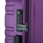Antler Prism Hi-Shine Medium 66cm Hardside Suitcase Purple 00123 - 5