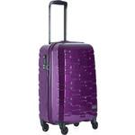 Antler Prism Hi-Shine Small/Cabin 56cm Hardside Suitcase Purple 00126