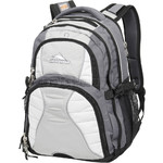 "High Sierra Swerve 16"" Laptop Backpack Grey 25536"