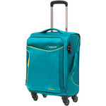 American Tourister Applite 2.0 Small/Cabin 55cm Softside Suitcase Turquoise 68052