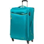 American Tourister Applite 2.0 Large 82cm Softside Suitcase Turquoise 68054