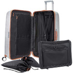 Samsonite Lite-Cube Deluxe Hardside Suitcase Set of 3 Aluminium 61242, 61243, 61245 with FREE Samsonite Luggage Scale 34042     - 2