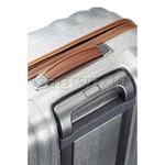 Samsonite Lite-Cube Deluxe Hardside Suitcase Set of 3 Aluminium 61242, 61243, 61245 with FREE Samsonite Luggage Scale 34042     - 3