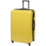 Jeep Explorer Large 77cm Hardside Suitcase Yellow 7200A