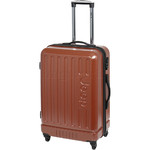 Jeep Explorer Medium 67cm Hardside Suitcase Rust 7200B