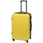 Jeep Explorer Medium 67cm Hardside Suitcase Yellow 7200B