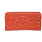 Eve Xia XL Zip Around RFID Blocking Wallet Tangerine EW032