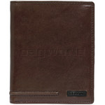 Cellini Viper Men's Leather RFID Blocking Wallet Brown MH207