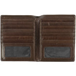 Cellini Men's Viper RFID Blocking Blazer Leather Wallet Brown MH207 - 2