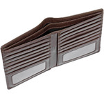 Cellini Men's Viper RFID Blocking Blazer Leather Wallet Brown MH207 - 3