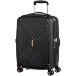 American Tourister Airforce 1 Small/Cabin 55cm Hardside Suitcase Galaxy Black 74401