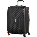 American Tourister Airforce 1 Medium 66cm Hardside Suitcase Galaxy Black 74403
