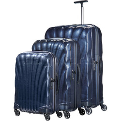 Samsonite Cosmolite 3.0 Hardside Suitcase Set of 3 Midnight Blue 73352, 73350, 73349 with FREE Samsonite Luggage Scale 34042