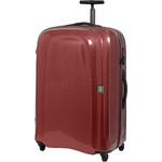 Lojel Lumo Large 77cm Hardside Suitcase Red Burgundy JLM77