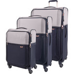 Samsonite Uplite SPL Softside Suitcase Set of 3 Pearl 80247, 80246, 80245 with FREE Samsonite Luggage Scale 34042