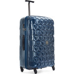 Antler Atom Large 74cm Hardside Suitcase Blue 35309