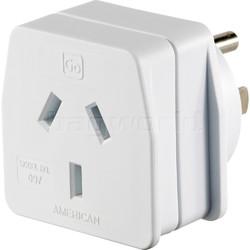GO Travel Adaptor American Adaptor Plug GO097