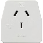 GO Travel Adaptor British Adaptor Plug GO096 - 2