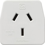 GO Travel Adaptor European Adaptor Plug GO098 - 2