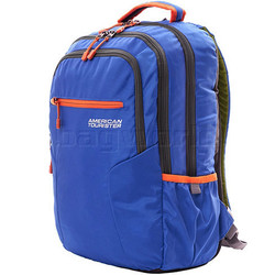 "American Tourister Buzz 04 17"" Laptop Backpack True Blue 72507"