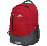 "High Sierra Fooser 15.4"" Laptop & Tablet Backpack Crimson 70507"