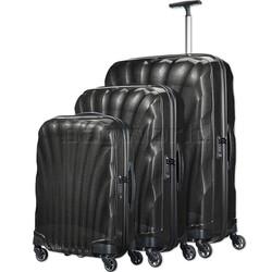 Samsonite Cosmolite 3.0 Hardside Suitcase Set of 3 Black 73352, 73350, 73349 with FREE Samsonite Luggage Scale 34042