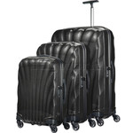 Samsonite Cosmolite 3.0 Hardside Suitcase Set of 3 Black 73352, 73350, 73349 with FREE Samsonite Luggage Scale 34042
