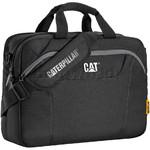 "CAT Bizz Tools 15.6"" Laptop Messenger Black 83219"