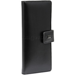 Cellini Ladies' Atlanta Long Leather Wallet Black T1029
