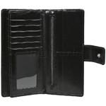 Cellini Ladies' Atlanta Long Leather Wallet Black T1029 - 3