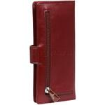 Cellini Ladies' Atlanta Long Leather Wallet Red T1029 - 1
