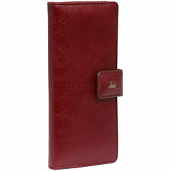 Cellini Ladies' Atlanta Long Leather Wallet Red T1029